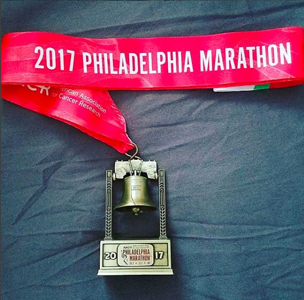 Philly Marathon 2017 Finisher Medal